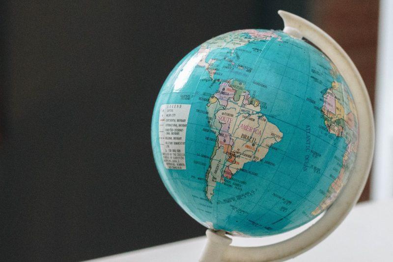 Imagen decorativa de globo terraqueo